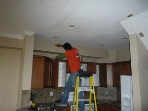 Water Damage Dunn Place Restoration Ceiling Repair